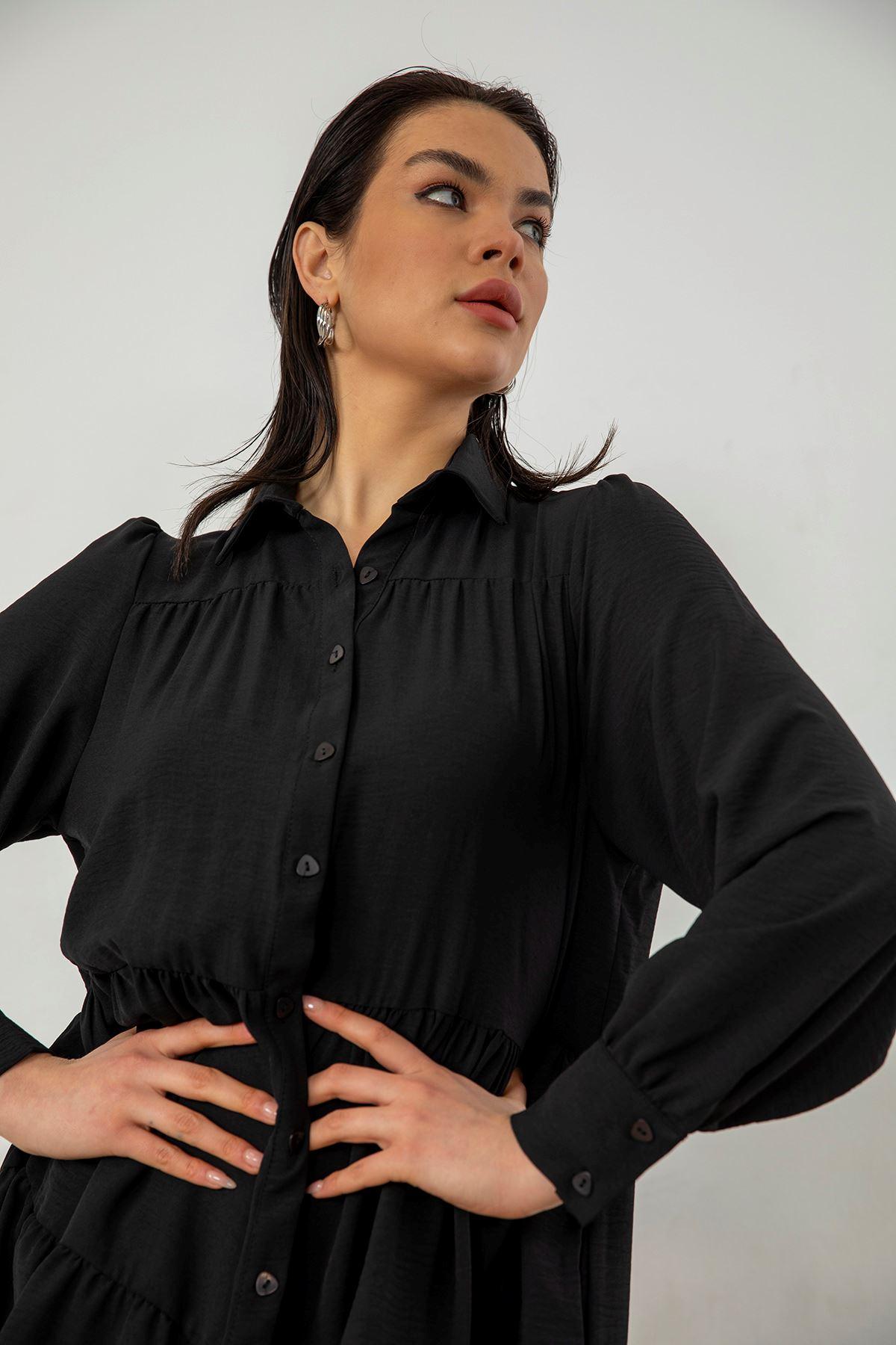 Salaş Elbise-Siyah
