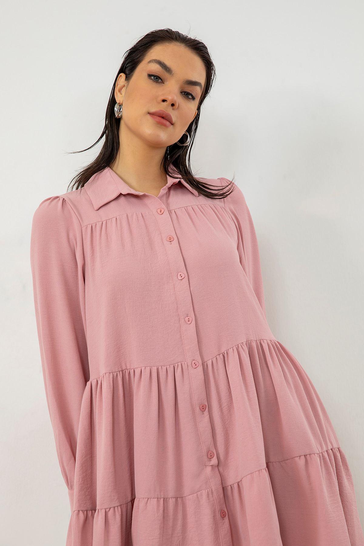Salaş Elbise-Pudra