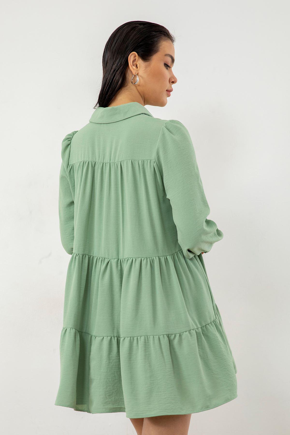 Salaş Elbise-Mint