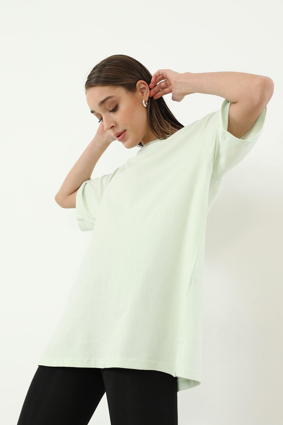 Oversize T-shirt-Mint