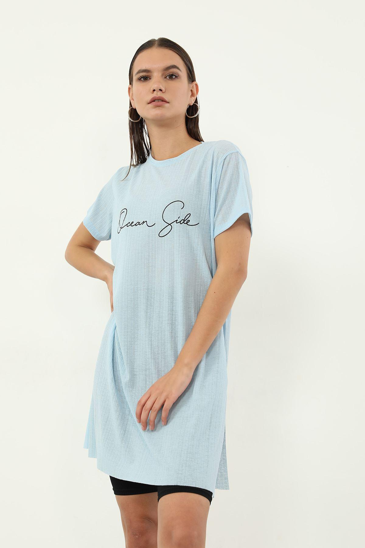 Dream Side Baskılı T-shirt-Bebemavi