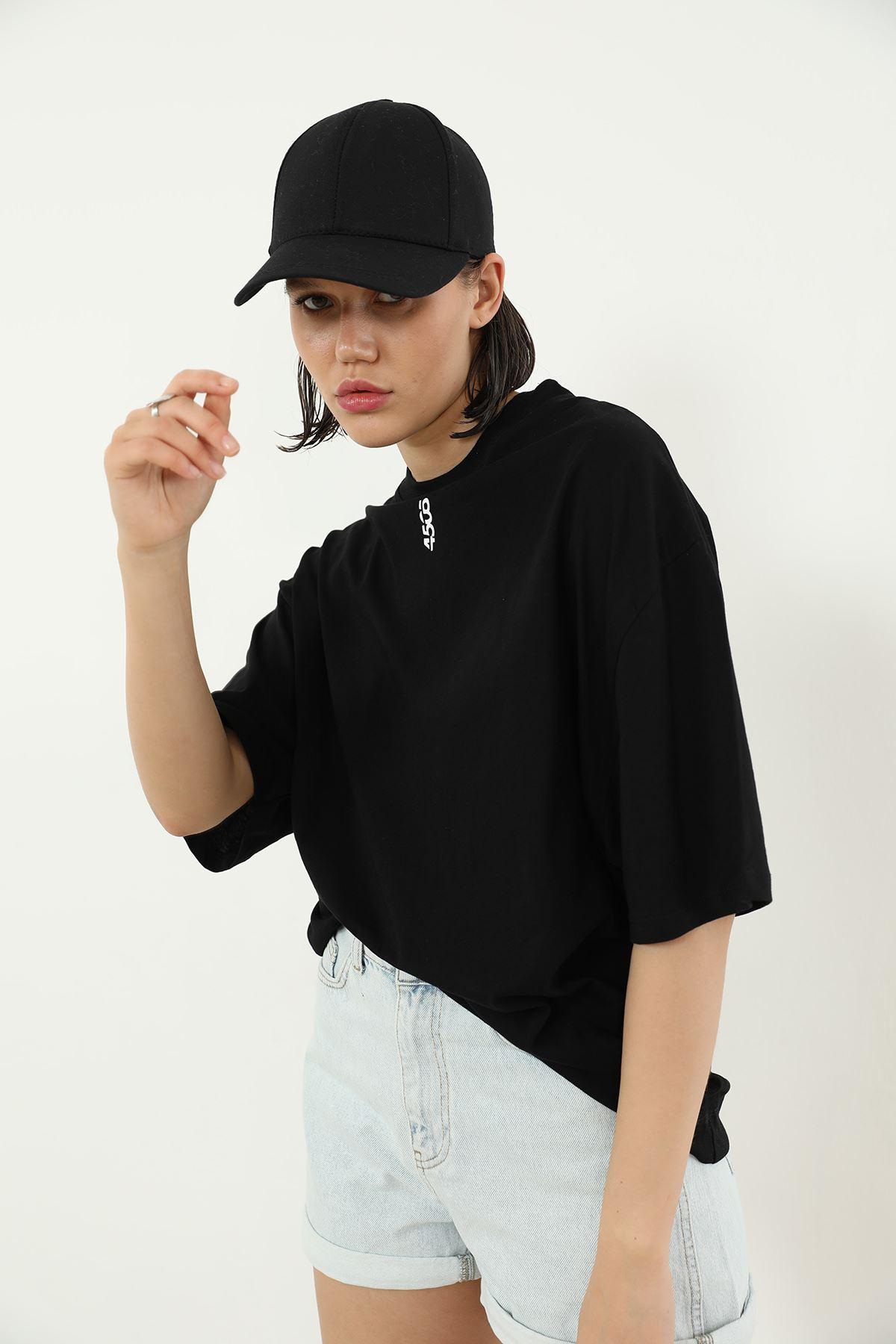 Salaş T-shirt-Siyah