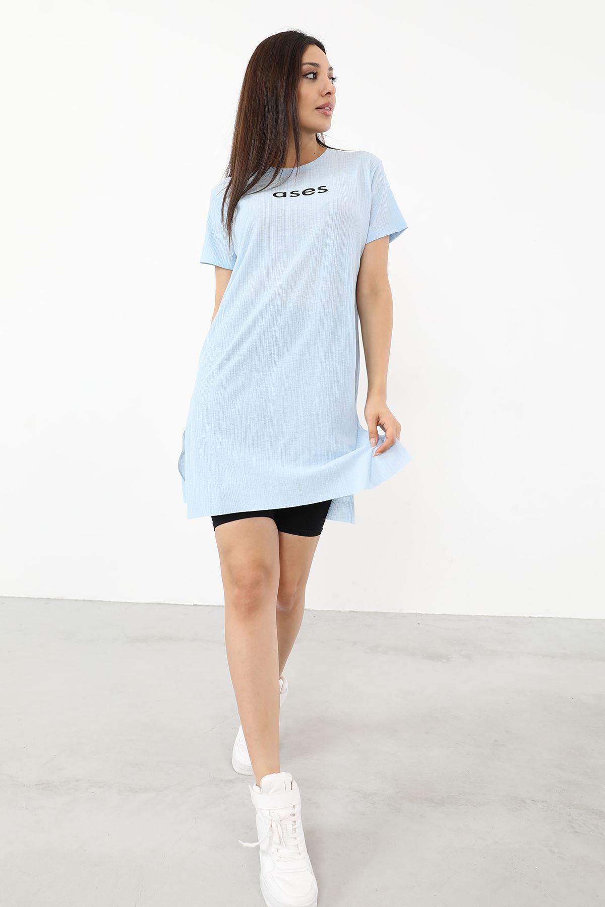 Ases Baskılı T-shirt-Bebemavi