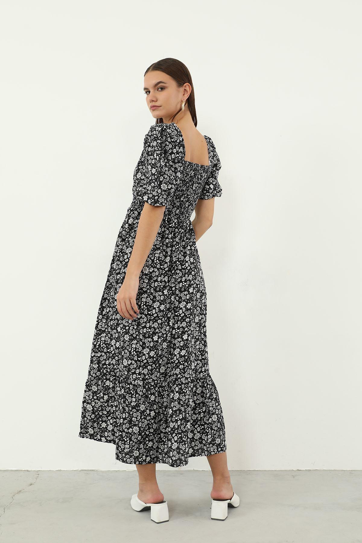 Gipeli Elbise-Çiçek