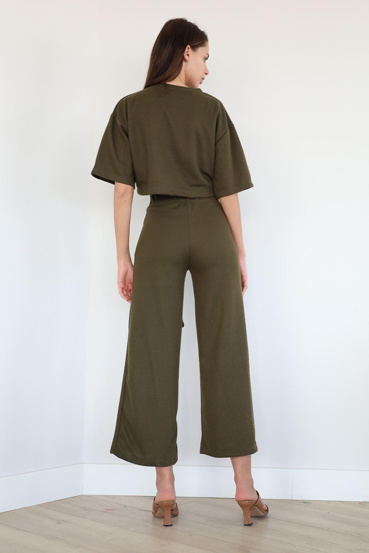 Salaş Pantolon Takım-Haki
