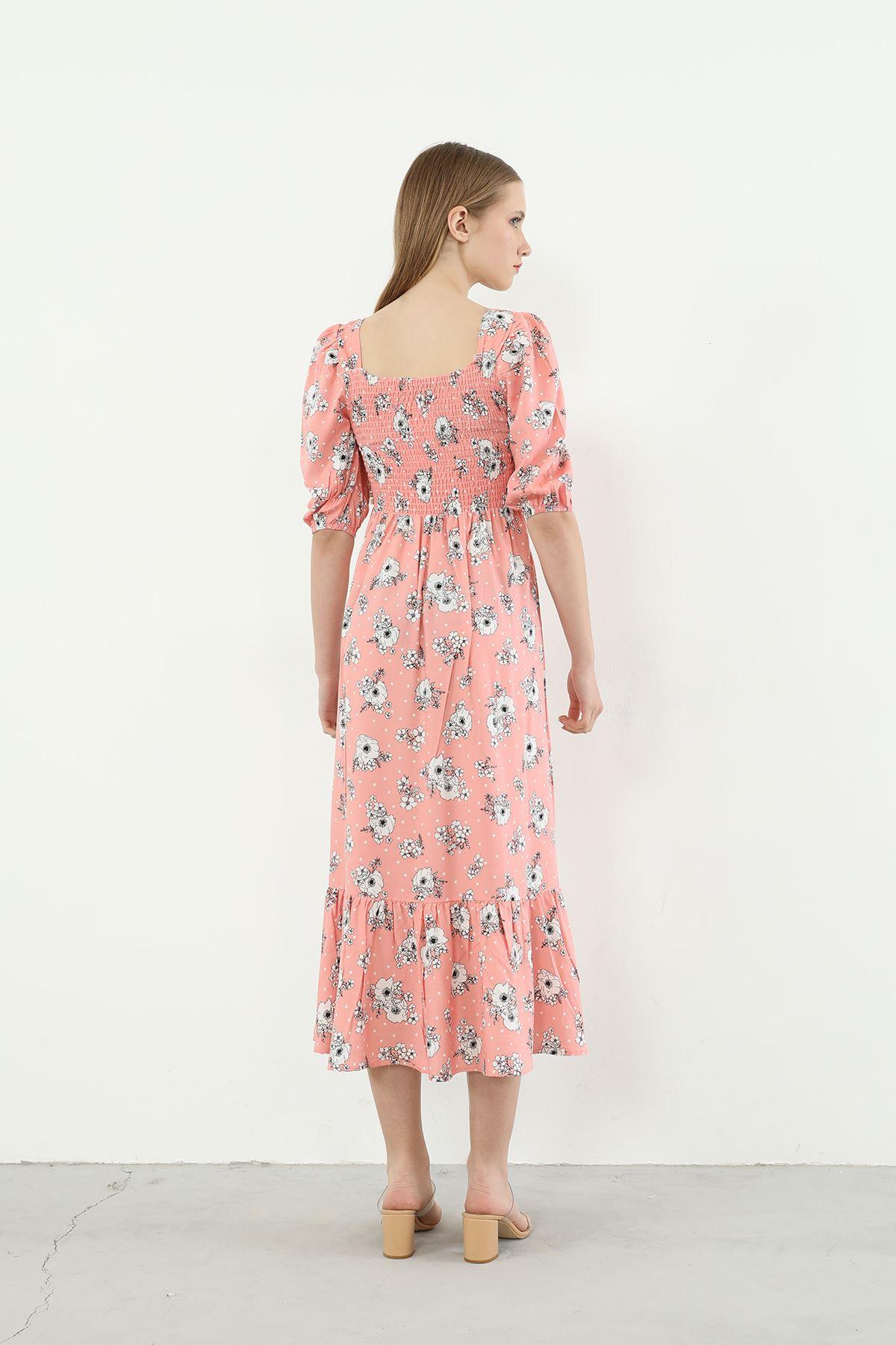 Gipeli Elbise-Pudra