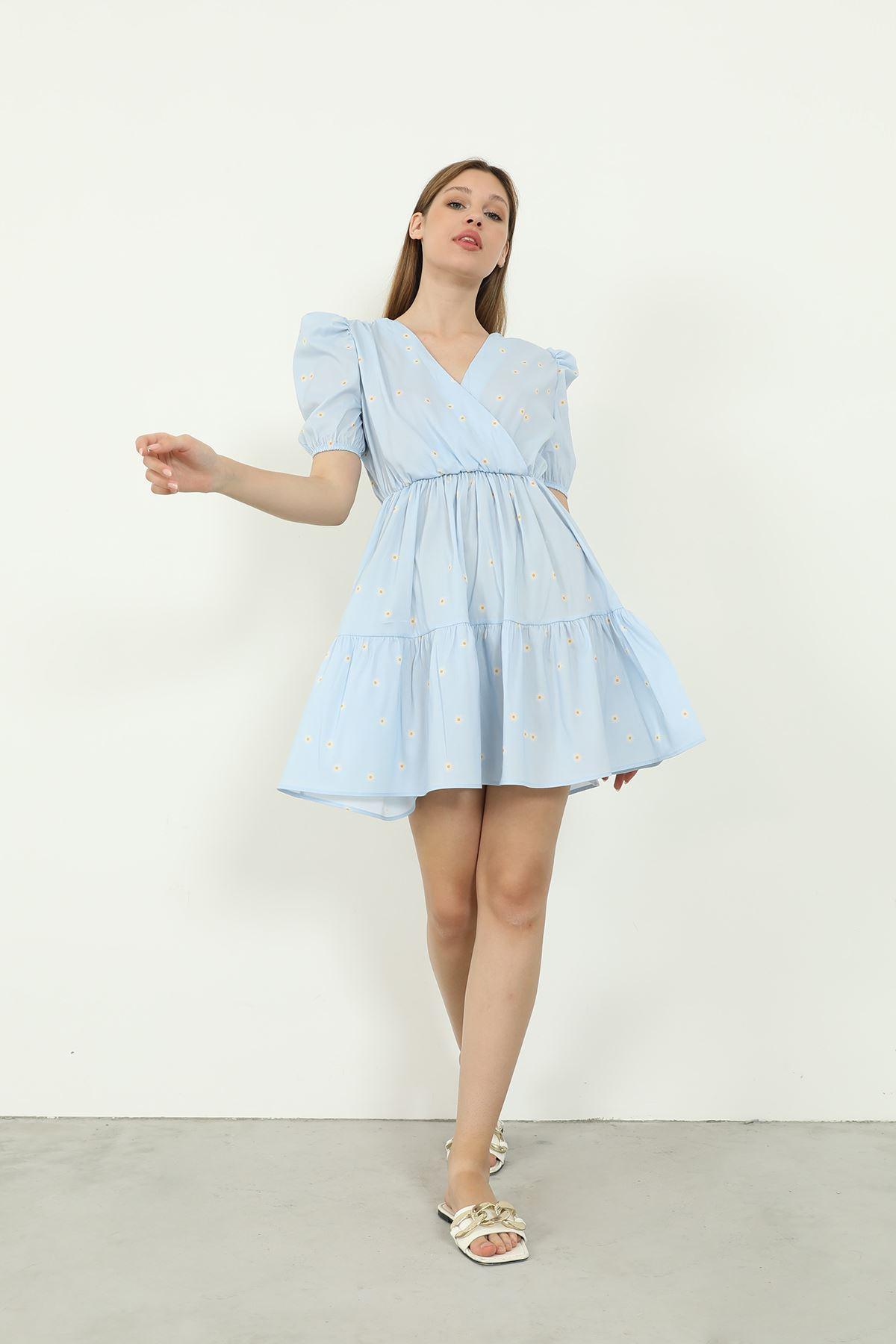 Sırt Detay Elbise-Bebemavi